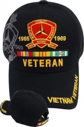 View Buying Options For The 3rd Marine Division Vietnam Veteran Ribbon Shadow Mens Cap