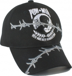 View Buying Options For The POW MIA Barbed Wire Mens Cap
