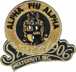 View Buying Options For The Alpha Phi Alpha Fraternity, Inc. Since 1906 Iron-On Patch