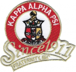 View Buying Options For The Kappa Alpha Psi Fraternity, Inc. Since 1911 Iron-On Patch