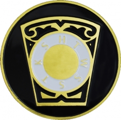 View Buying Options For The Royal Arch Chapter Keystone Symbol Round Car Emblem