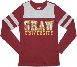 View Buying Options For The Big Boy Shaw Bears Ladies Long Sleeve Tee