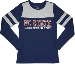 View Buying Options For The Big Boy South Carolina State Bulldogs Ladies Long Sleeve Tee