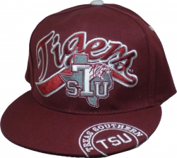 View Buying Options For The Texas Southern Letterman Flatbill Mens Snapback Cap