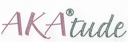 View Buying Options For The Alpha Kappa Alpha AKA Attitude Rhinestone Heat Transfer