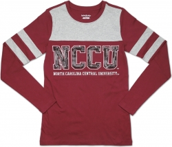 View Buying Options For The Big Boy North Carolina Central Eagles Ladies Long Sleeve Tee