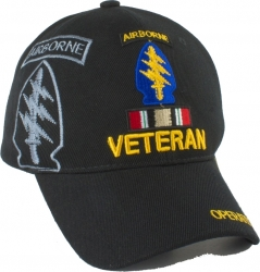 View Buying Options For The Special Forces Airborne OIF Veteran Ribbon Shadow Mens Cap