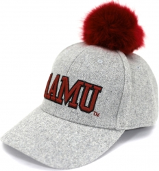 View Buying Options For The Big Boy Alabama A&M S8 Ladies Pom Pom Cap
