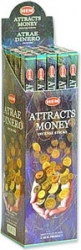 View Buying Options For The HEM Attracts Money 8 Gram Boxed Incense Sticks [Pre-Pack]