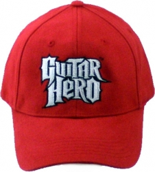 View Buying Options For The Guitar Hero Stacked Logo FlexFit Mens Fitted Cap