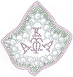 View Buying Options For The Alpha Kappa Alpha Pearl Ivy Studstone Heat Transfer