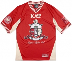 View Buying Options For The Big Boy Kappa Alpha Psi Divine 9 S8 Mens Football Jersey