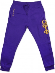 View Buying Options For The Big Boy Omega Psi Phi Divine 9 Mens Jogger Sweatpants