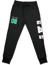 View Buying Options For The Big Boy Alpha Kappa Alpha Divine 9 Sequin Womens Jogger Sweatpants