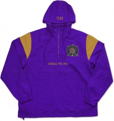 View Buying Options For The Big Boy Omega Psi Phi Divine 9 Anorak Mens Jacket