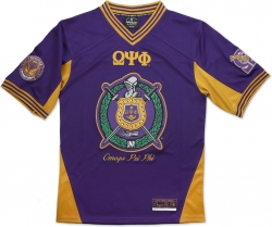 View Buying Options For The Big Boy Omega Psi Phi Divine 9 Divine 9 S8 Mens Football Jersey