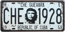 View Buying Options For The Che Guevara Republic of Cuba 1928 Metal License Plate
