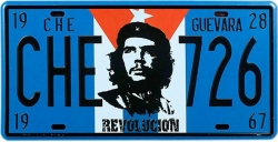 View Buying Options For The Che Guevara Revolucion 726 License Plate