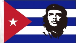 View Buying Options For The Che Textile Cuban Flag / Fabric Poster