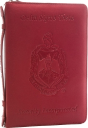 "View Buying Options For The Delta Sigma Theta ""The Deluxe"" Leather Ritual Book Cover"
