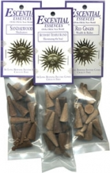 View Buying Options For The Escential Essences Patchouli Incense Cones [Pre-Pack]