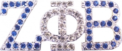 View Buying Options For The Zeta Phi Beta 2-Color Crystal Lapel Pin
