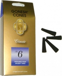 View Buying Options For The Gonesh Cones #6 Ancient Times 25-Cone Incense Pack [Pre-Pack]