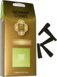 View Buying Options For The Gonesh Cones Jasmine 25-Cone Incense Pack [Pre-Pack]