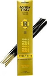 View Buying Options For The Gonesh Amber 20-Stick Incense Pack [Pre-Pack]
