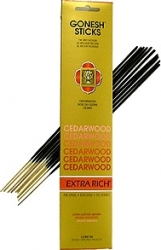 View Buying Options For The Gonesh Cedarwood Incense Sticks [Pre-Pack]