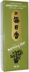 View Buying Options For The Morningstar Incense Green Tea 200-Stick Incense Pack
