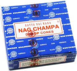 View Buying Options For The Satya Sai Baba Classic Nag Champa Incense Cones [Pre-Pack]