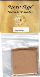 View Buying Options For The New Age Nag Champa Powdered Incense Pack [Pre-Pack]