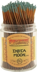 View Buying Options For The Wildberry India Moon 100-Shortie Incense Stick Bundle