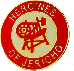 View Buying Options For The Heroines of Jericho Round Lapel Pin