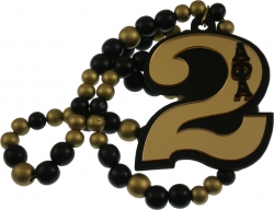View Buying Options For The Alpha Phi Alpha Line #2 Mirror Wood Color Bead Tiki Necklace