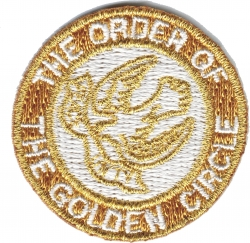 View Buying Options For The Order of the Golden Circle Iron-On Patch