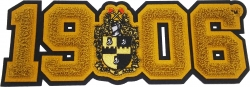 View Buying Options For The Alpha Phi Alpha Crest 1906 Chenille Sew-On Patch