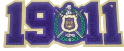 View Buying Options For The Omega Psi Phi Crest 1911 Chenille Sew-On Patch
