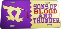 View Buying Options For The Omega Psi Phi Sons of Blood and Thunder Split Mirror License Plate