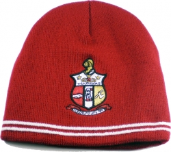View Buying Options For The Kappa Alpha Psi Stripes Mens Beanie Cap