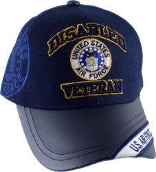 View Buying Options For The Disabled U.S. Air Force Veteran Eagle Logo Mens Cap