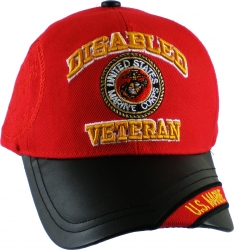 View Buying Options For The Disabled U.S. Marine Veteran Vinyl Bill Shadow Mens Cap