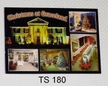 View Buying Options For The Elvis Presley Christmas at Graceland Postcards [Pre-Pack]