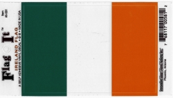 View Buying Options For The Ireland Flag Car Decal Sticker [Pre-Pack]