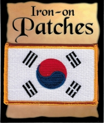 View Buying Options For The South Korea Flag Iron-On Patch [Pre-Pack]