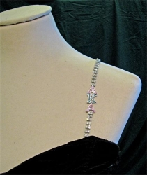 View Buying Options For The Alpha Kappa Alpha Rhinestone Bra Strap