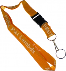 View Buying Options For The Alpha Psi Lambda Classic Woven Embroidered Lanyard
