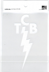 View Buying Options For The Elvis Presley TCB Logo Cut-Out Graphic Decal Sticker