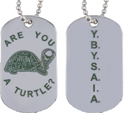 View Buying Options For The Shriner Are You A Turtle Double Sided Dog Tag